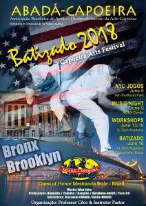 Batizado 2018 is June 16 | ABADA Capoeira Bronx