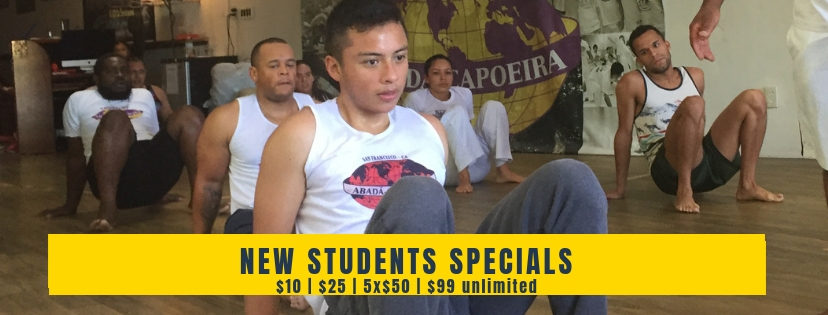 ACBX Capoeira New Students Special
