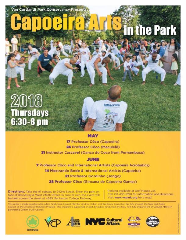 FREE Capoeira in the Park - ABADA-Capoeira Bronx