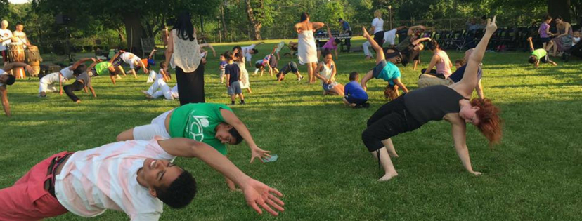 Free Capoeira In the Park